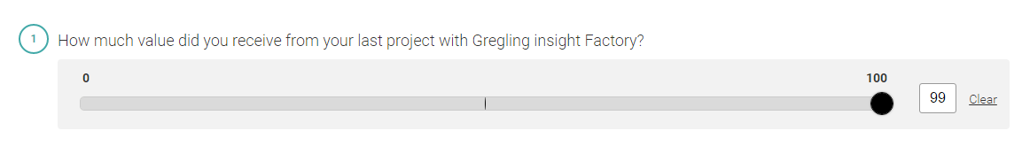 Gregling Insight Factory - Slider question